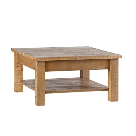 Rustic Square Coffee Table Hotzon Furniture Inc
