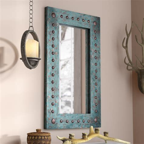 Rustic Wall Mirrors You ll Love Wayfair