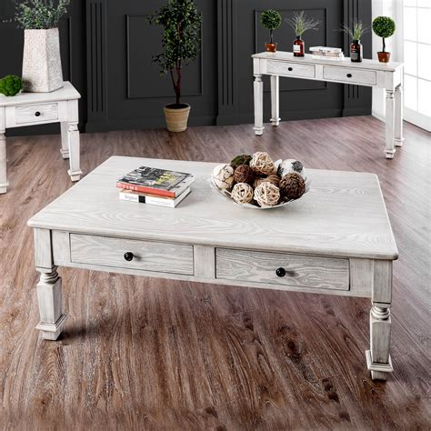 Rustic White Coffee Table Buy and Sell Furniture in