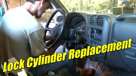 S10 Lock Cylinder Starter Switch Install Replacement YouTube
