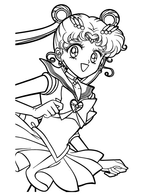 SAILOR MOON coloring pages Coloring pages Printable