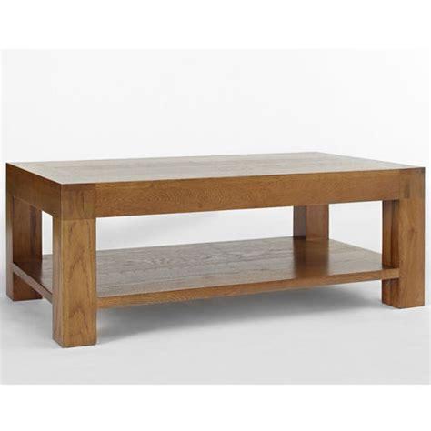 SALE on Santana Rustic Oak Coffee Table 120 x 70cm