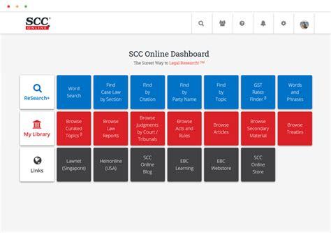 SCC Online Web Edition Quicker Easier Effective Legal