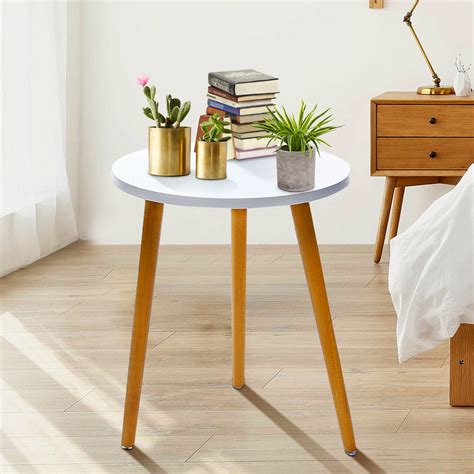 SMALL ROUND SIDE TABLE BEDSIDE DISPLAY TABLE TABLE CLOTHS