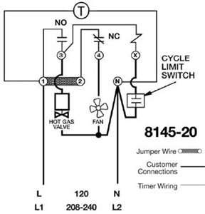 paragon defrost timer 8145 20 wiring diagram images 8145 20 solved i have a paragon 8145 20 defrost timer do you fixya