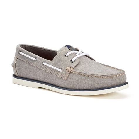 SONOMA Goods for Life Men s Lace Up Boat Shoes