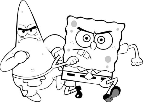 SPONGEBOB COLORING Pages Free Download Printable