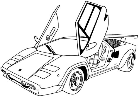 SPORTS CAR coloring pages Coloring pages Printable