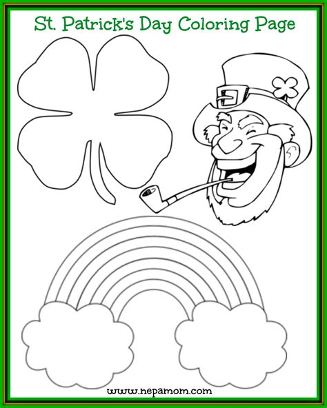 ST PATRICK S DAY coloring pages 34 pages to color