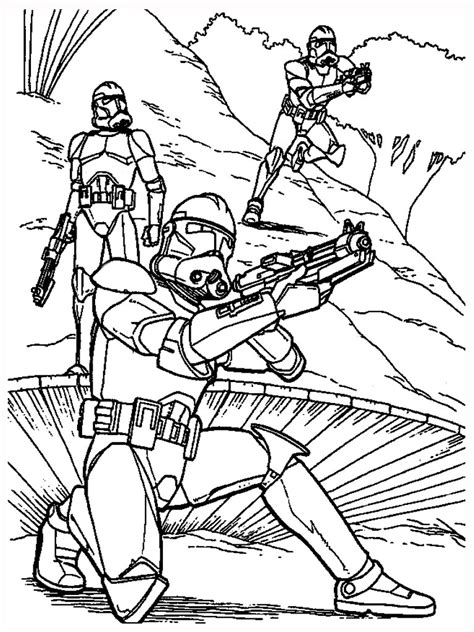 STAR WARS Coloring Pages Free online coloring for kids