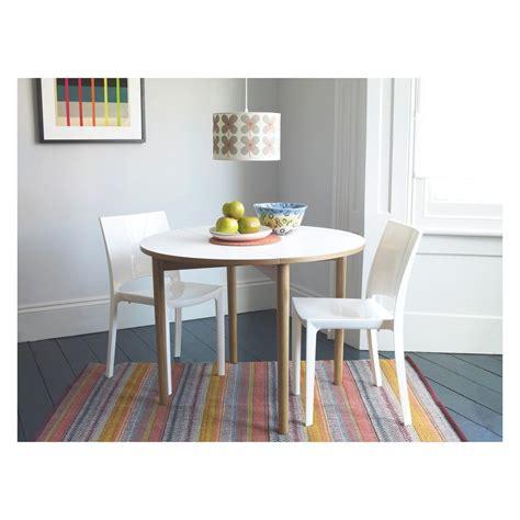 SUKI 2 4 seat white folding round dining table Buy now