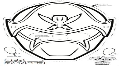 SUPER MEGA Power Rangers Printable Coloring Masks All