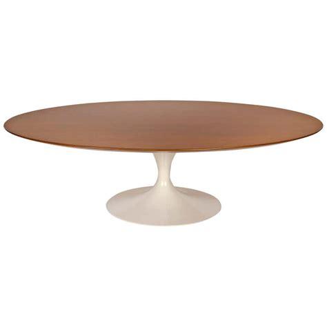 Saarinen Coffee Table Wood Top CA Modern Home