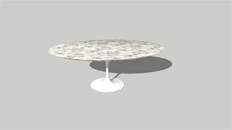 Saarinen Low Oval Coffee Table 3D Warehouse
