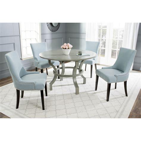 Safavieh Ludlow Ash Grey Round Dining Table eBay