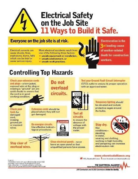 Safety Electrical Construction Maintenance EC M Magazine