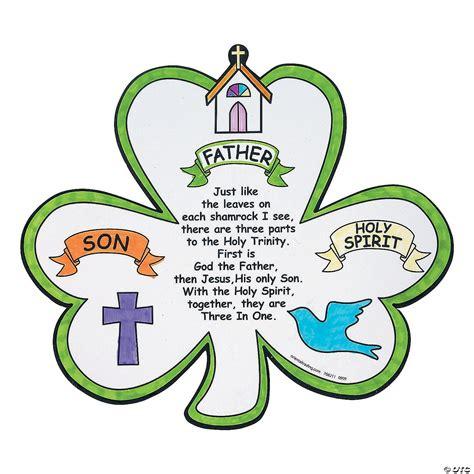 Saint Patrick The Shamrock and The Trinity Catholic