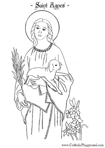 Saints Coloring Pages theclipartwizard