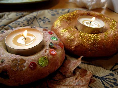 Salt dough candle holders for Diwali NurtureStore