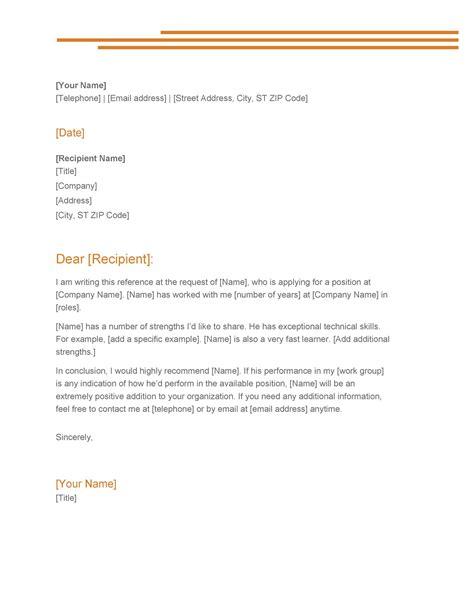 Sample Letter of Recommendation Letter Samples