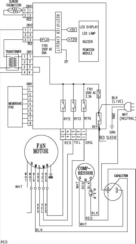 samsung split air conditioner wiring diagram images mitsubishi samsung air conditioner parts circuit wiring diagram