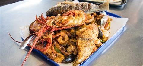 San Pedro Fish Market World Famous Shrimp Tray San