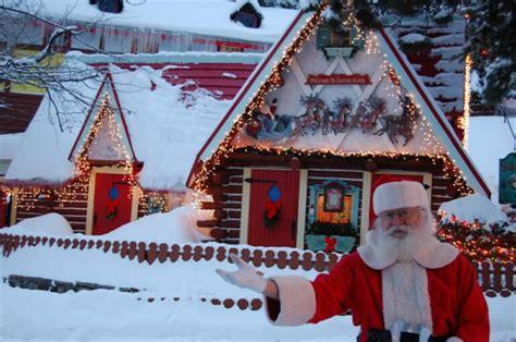 Santa Claus and Christmas at the North Pole