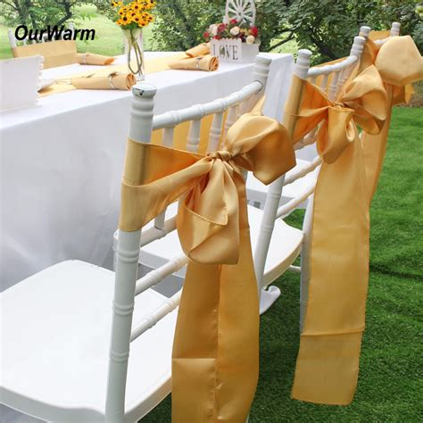 Satin Sash Cheap Satin Chair Sashes Rental for Wedding