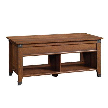 Sauder Carson Forge Lift Top Coffee Table Walmart