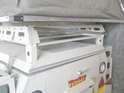 Savuti 6ft Roofrack with table compartment Venter Trailers