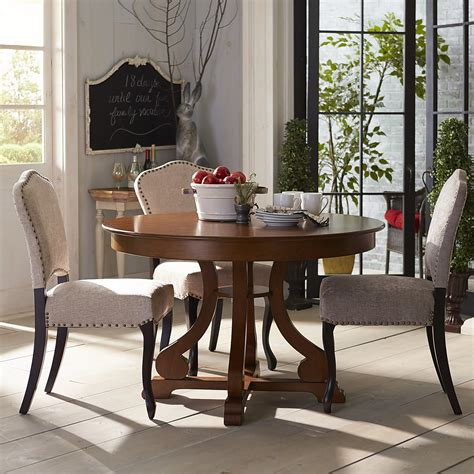 Sawyer Pecan Brown Dining Table Base Pier 1 Imports