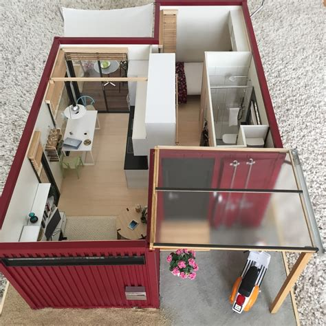 Scale Shipping Container Models HOME