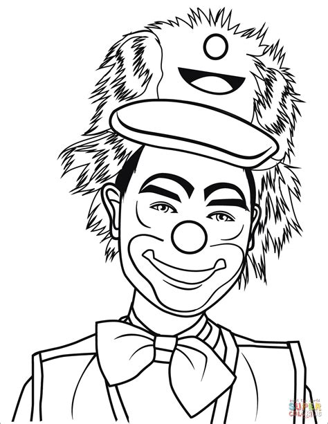 Scary Clown Coloring Pages boytoy store