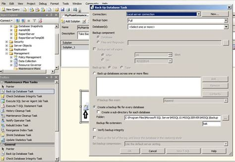Scheduling automated backup using SQL server 2008 K G