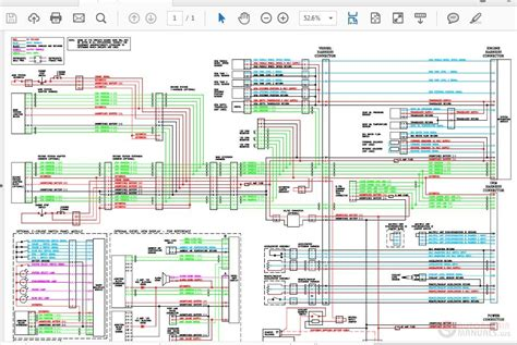 Schematic diagram service manual circuit diagram wiring