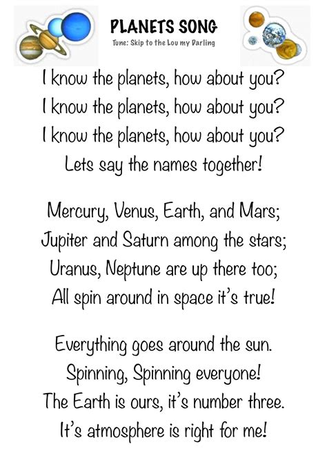 Science Poems and Songs for Fun and Learning