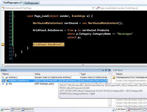 ScottGu s Blog Visual Studio 2008 and NET Framework 3 5