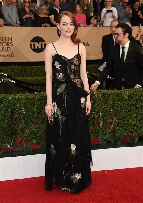 Screen Actors Guild Awards Red Carpet Fashion The New