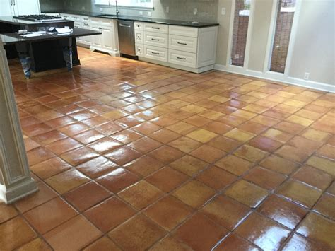 Seal Mexican Saltillo Tile Clean Mexican Tile floor