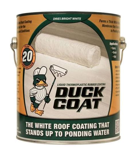 SealBest Duck Coat White Thermoplastic Roof Coating 9