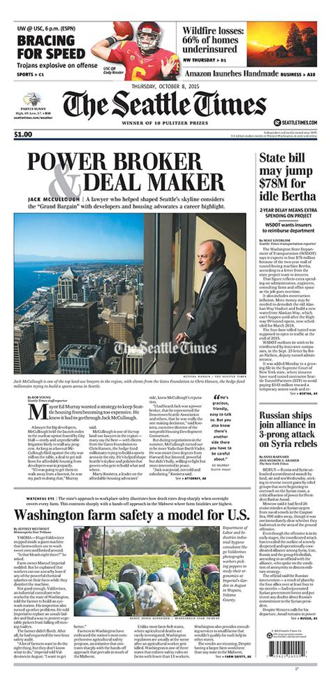 Search The Seattle Times