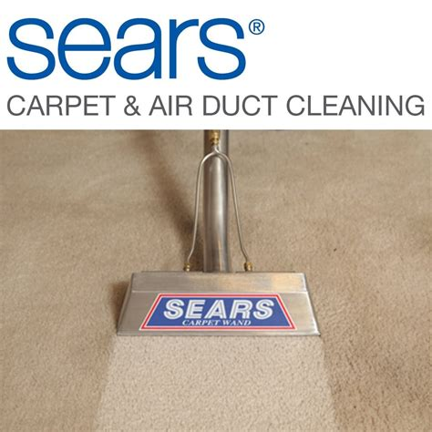 Sears Carpet Upholstery Duct Cleaning with Heating and