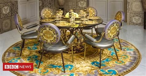 See inside Versace s designer flats BBC News