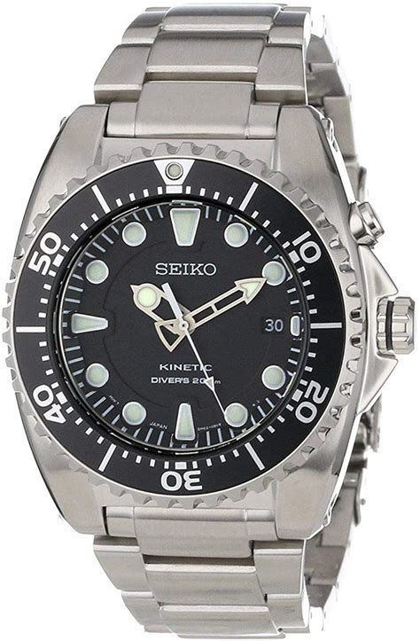 Seiko Watches for Men Women Kinetic watches