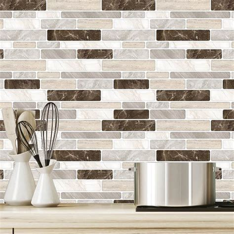 Self Stick Backsplash Tiles Walmart