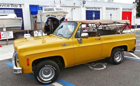 Seller Submission Original Paint 1973 Chevrolet K5 Blazer