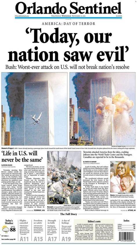 September 11 News September 11 2001 News Archives