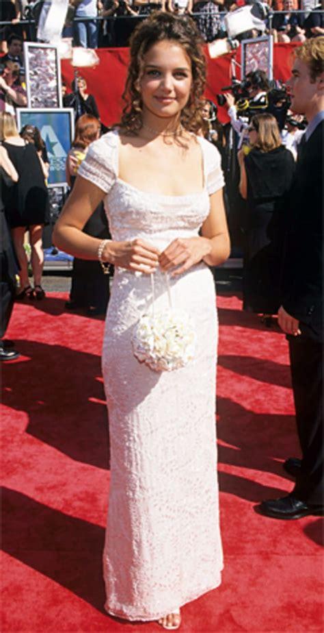 September 13 1998 Katie Holmes Red Carpet Evolution
