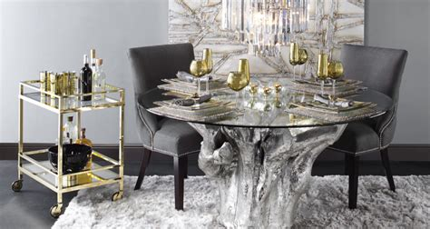 Sequoia Dining Table Luxe for Less Furniture Z Gallerie