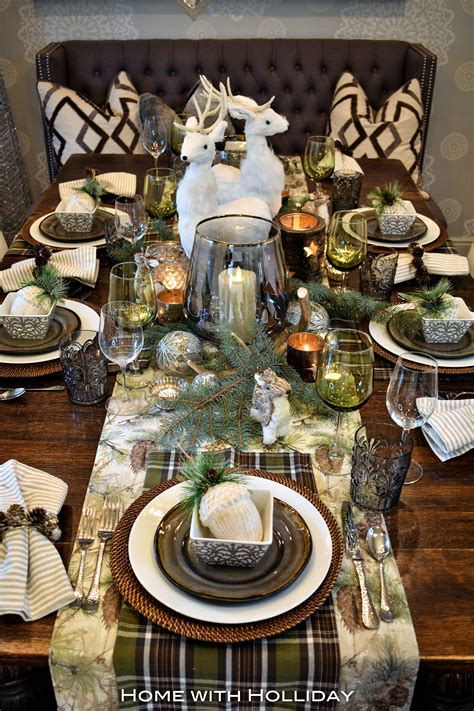 Set A Christmas Table Images Rustic Kitchen Table Ideas